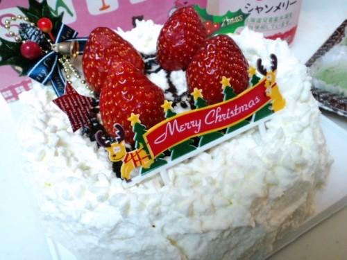 スノーピアのミルクレープで*<(*´-`)o∠・:*:・゜Merry Christmas♪