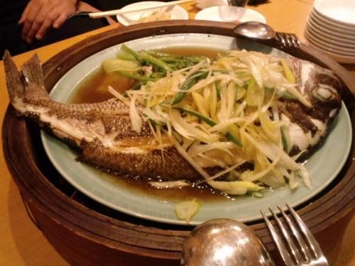 タイ料理中国料理専門店「潮華」で超豪華ディナーは、なんせめで鯛の巻