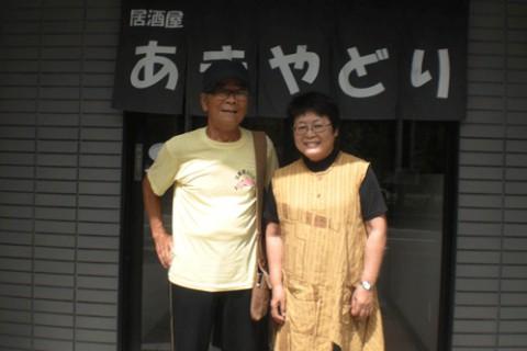ランチのお客さま!福岡から今年も来て頂きました♪