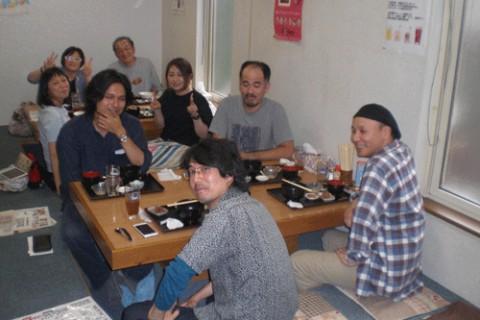 ランチのお客さま!東京からのお客さま♪