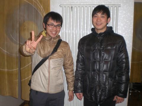 昨夜のお客さま!香川県から、ばんえい競馬を見に♪