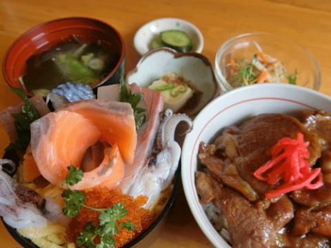 甘辛豚丼ちらし寿司セット♪