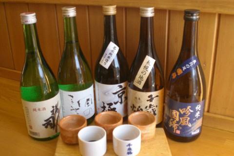 北海道の地酒飲みくらべ♪