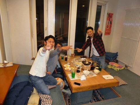 昨夜のお客さま!新年が明るい年でありますように♪
