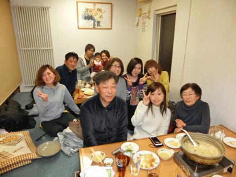 昨夜のお客さま!新春の宴をありがとうございました♪