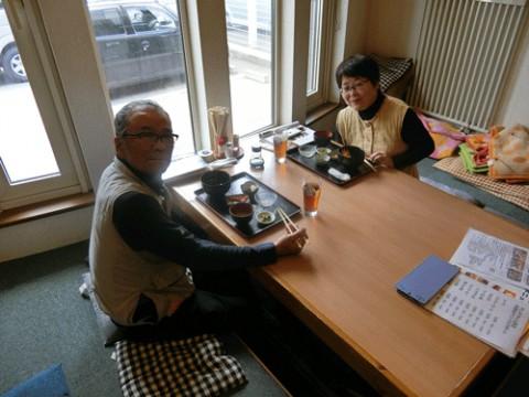 ランチのお客さま!福岡から北海道へ♪