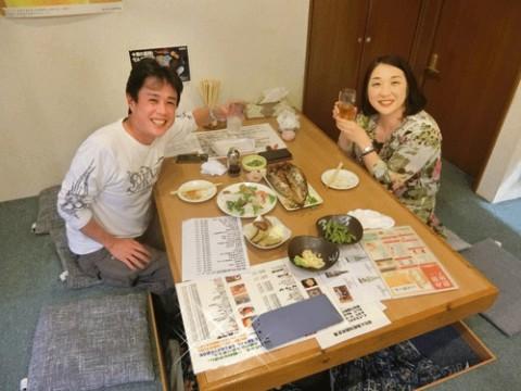 昨夜のお客さま!東京からご夫婦で♪