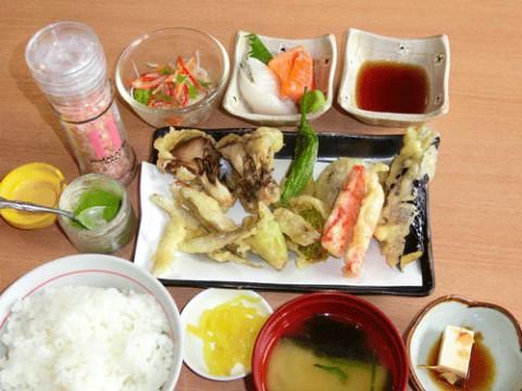 たまには、天ぷら定食のPR♪