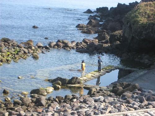 水無海浜温泉へ