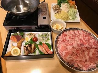 「豚しゃぶ」宴会コース
