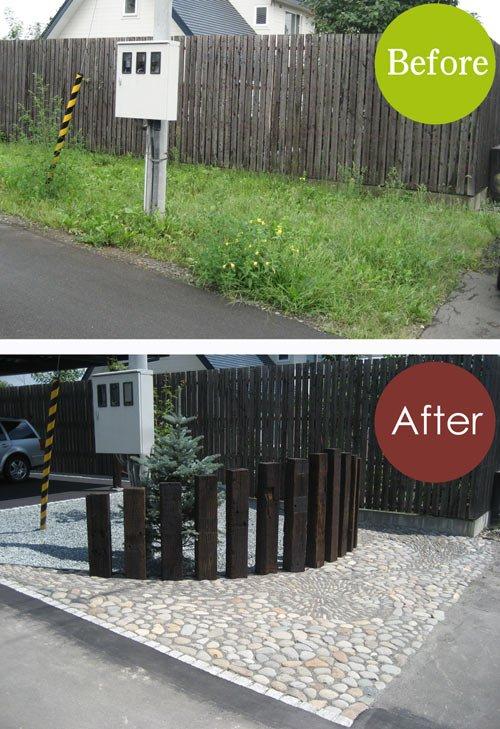庭・Before & After /フロントヤード・5