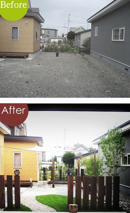 庭・Before & After /ガーデン・デザイン