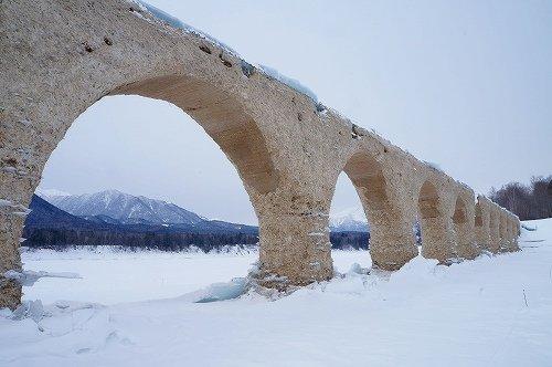 タウシュベツ橋へ ぶらり