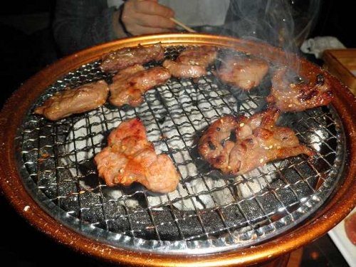 羅山で焼肉