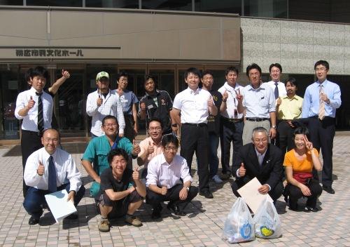 2008年度クリーン・キャンバス・21第5回清掃美化活動