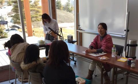 食育セミナーで講師 ガーデンスパ十勝川温泉
