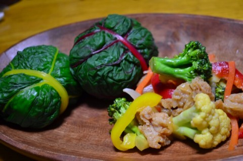 白木さんち生産の野菜で!