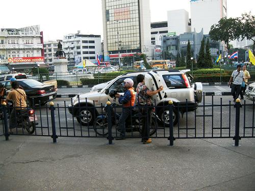 バンコック バイクタクシー