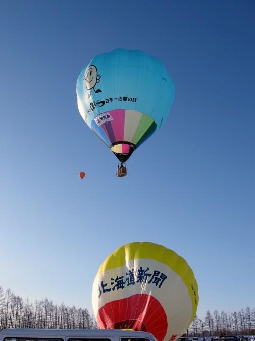 北海道気球月間前半終了