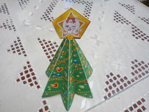 「クリスマスツリー」できました。