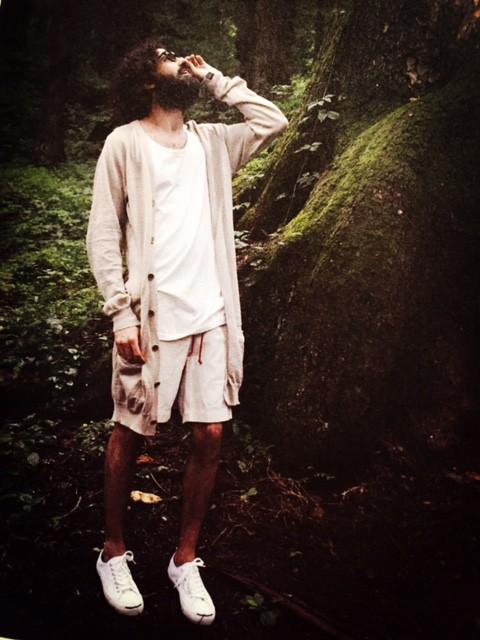 attire 『linen long cardigan』