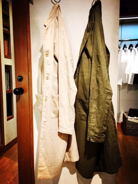 attire 『stand collar coat』