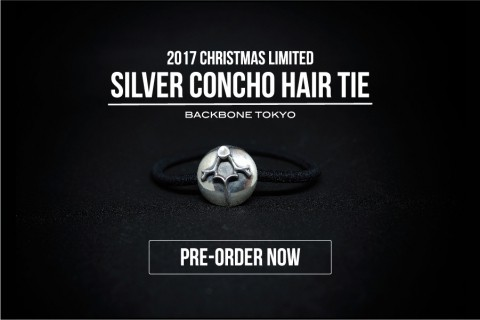 SILVER CONCHO HAIR TIE 予約開始!!