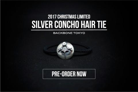 SILVER CONCHO HAIR TIE 予約開始!!