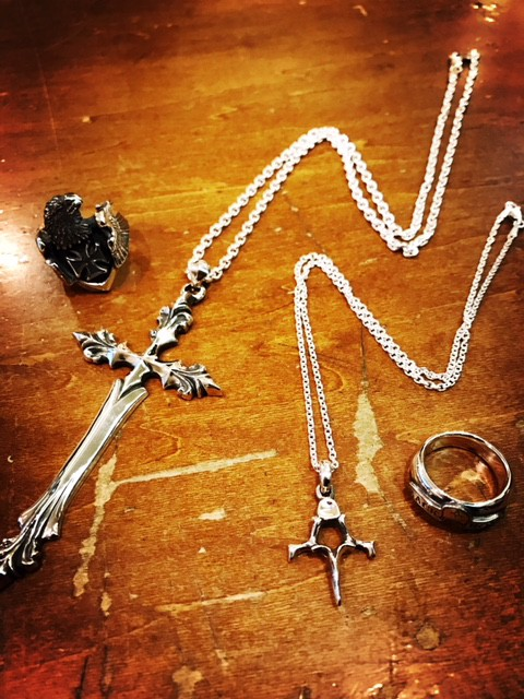 BACKBONE silver accessories 入荷!!