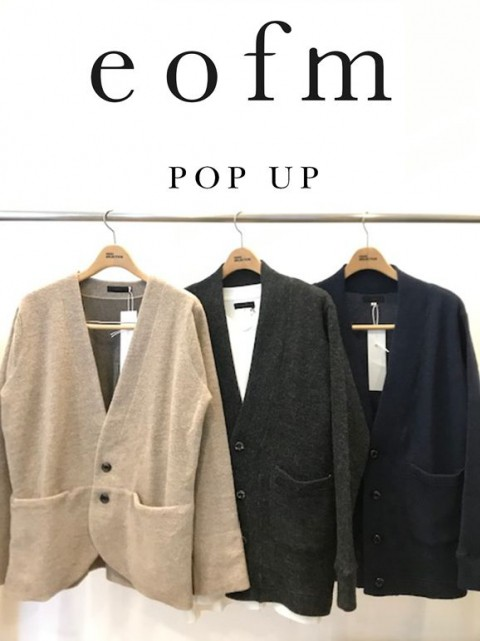 『eofm』POP-UPイベント。