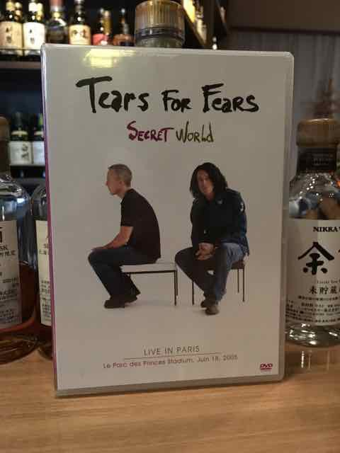 こんなのあります「Tears For Fears SECRET WORLD Live In Paris 2005」