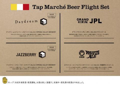 クラフトビール4種全て入れ替えました。