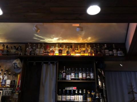 バーボン、テネシーウイスキーも60種ほどございます。