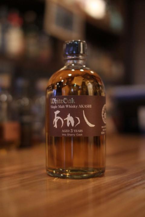 こんなのあります「江井ヶ島酒造 シングルモルトあかし 芋シェリー3年」