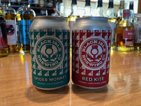 スコットランドのオーガニックビール、ブラックアイル2種の提供開始です。