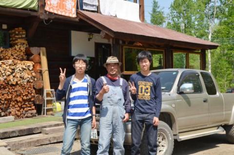 奈良学園高校 男子生徒2名のホームスティ♪