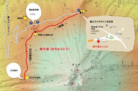 富士山の御中道を歩いてきました!