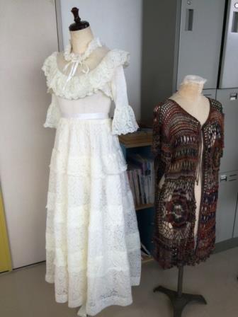 ハンドメイドのウエディングドレス