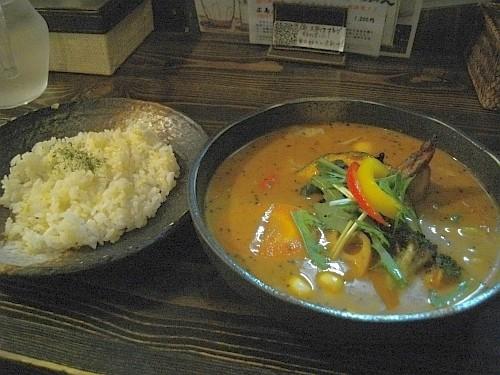 札幌スープカレー・サムライに行きました!