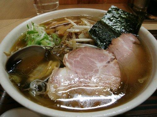 魚醤ラーメン(らーめん工房魚一・釧路)