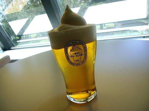 夏はビールが飲みたい!