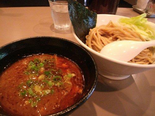 海老つけ麺(新宿・五ノ神製作所)