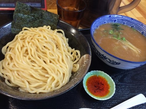 濃厚魚介鶏つけめん(曳舟・中川會)