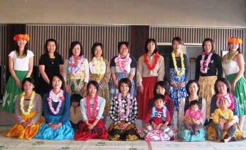 浦幌町♪おひさま広場合同子育て出前ミニ講座(フラダンス)