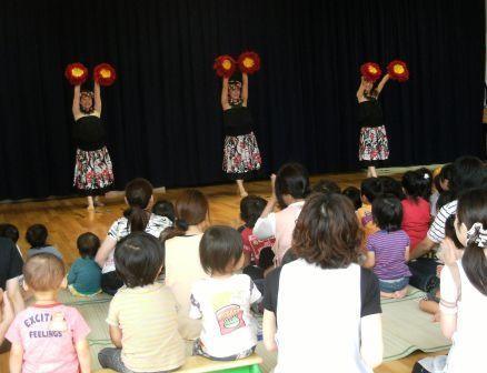 豊成幼稚園へ行ってきました!