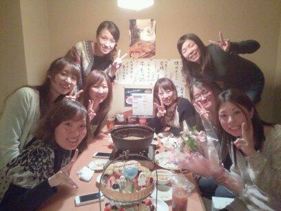 アユミちゃん サプライズパーティー!!