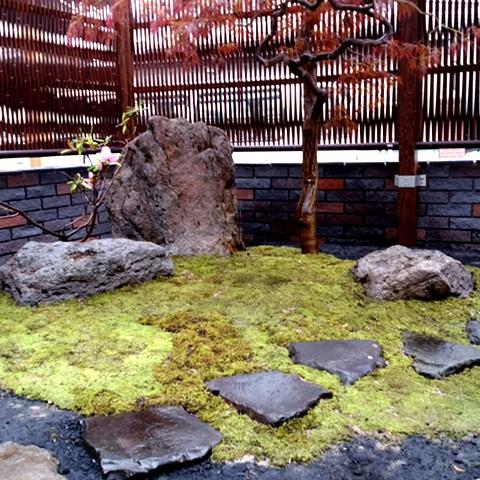 茶庭の作庭4