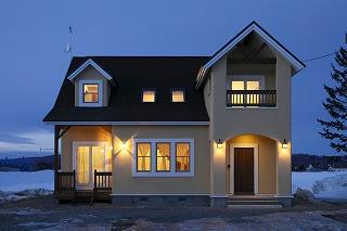 「世界でたったひとつの家」完成です!