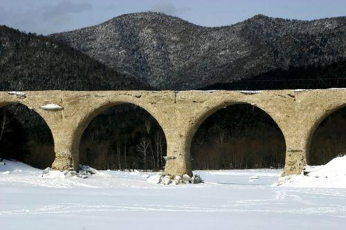 デジブック*冬のアーチ橋梁