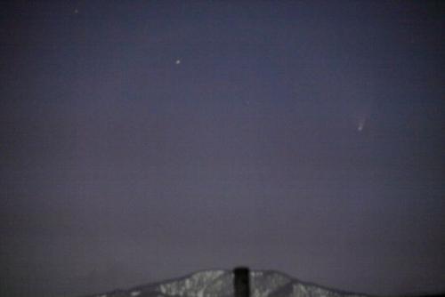 パンスターズ彗星を観に